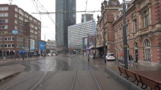 HTM tramlijn 12 Duindorp – Station Den Haag Hollands Spoor – Duindorp | corona afroep | 3070 | 2020
