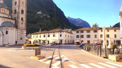 Tirano – St. Moritz cab ride with rear view camera, Italy to Switzerland [10.2019]