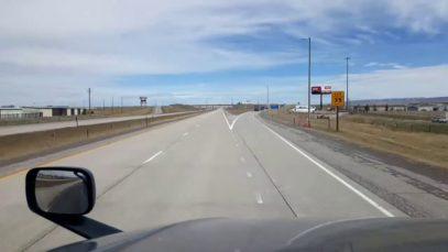 BigRigTravels LIVE! Laramie to near Evanston, Wyoming I-80 West-Apr. 30, 2020