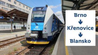 Cabview: Brno – Křenovice – Blansko