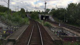 Führerstandsmitfahrt von Berlin Karow bis Berlin Schönefeld Flughafen in Echtzeit.