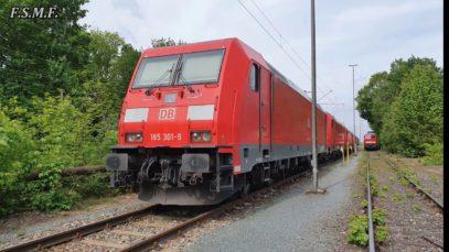 Lz von Nürnberg Rbf nach Stuttgart Hafen
