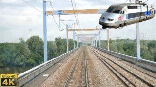 TGV Cabride sur la ligne classique Bordeaux – Paris en TGV Atlantique Libourne – St-Pierre Des Corps
