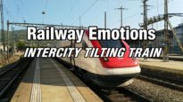 TILTING TRAIN CAB RIDE with high speeds and fast corners (Switzerland | IC5 Zürich – Biel/Bienne)