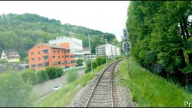 4K Cab ride, Brugg – RBL – Baden Oberstadt – Mellingen [05.2020]