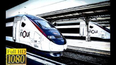 Cab ride TGV DUPLEX en HD DE LILLE à DUNKERQUE