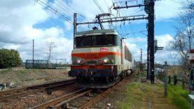 De Limoges Bénédictins à Paris Austerlitz en cabine de la BB22280