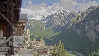Webcam Saint-Véran – Centre Village 2000m