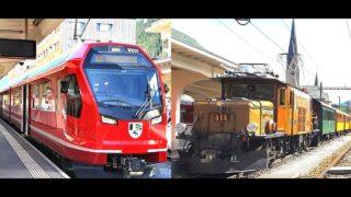 4K Cab ride Filisur – Davos Platz – Filisur, 90 years of history at the Rhaetian Railway [07.2020]