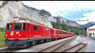 4K Cab Ride Landquart – Chur – Disentis, Switzerland [07.2020]