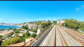 4K Cab Ride Toulon – Marseille (French Riviera), France [08.2020]