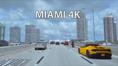 Miami 4K – Gold Coast – Scenic Drive