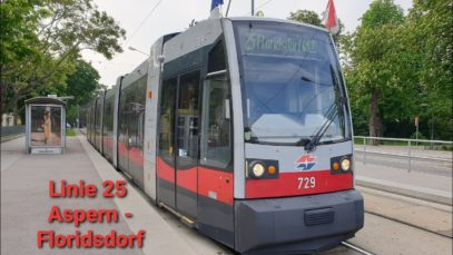 Wien Linie 25 Aspern – Floridsdorf (ULF)