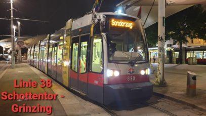 Wien Linie 38 Schottentor – Grinzing (ULF)