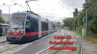 Wien Linie 43 Schottentor – Neuwaldegg (ULF)