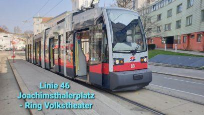 Wien Linie 46 Joachimsthalerplatz – Ring, Volkstheater (ULF)