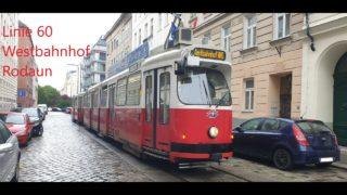 Wien Linie 60 Westbahnhof – Rodaun (E2+c5)