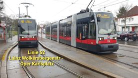 Wien Linie 62 Lainz Wolkersbergenstraße – Karlsplatz Oper (ULF)