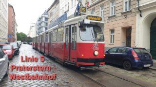 Wien Linien 5 Praterstern – Westbahnhof (E2+C5)