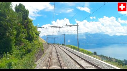 4K Geneva – Bern – Lucerne cab ride, speeds up to 200km/h [07.2020]