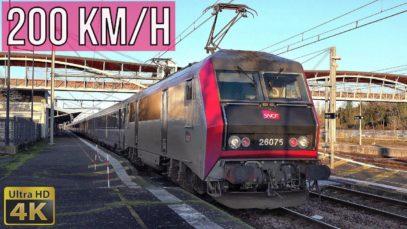 4K Les Aubrais Orléans – Bourges à 200km/h en BB 26000