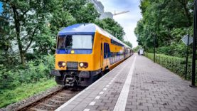 4K Cab Ride NL Amsterdam – Utrecht – Leiden – Utrecht / Empty Train + Intercity / 27-07-2020