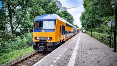 4K Cab Ride NL Amsterdam – Utrecht – Leiden – Utrecht / Empty Train + Intercity / 27-07-2020