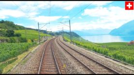 (4K reupload) Geneva – Bern – Lucerne cab ride, speeds up to 200km/h [07.2020]