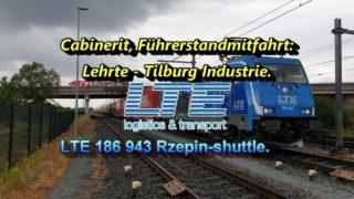 Cabinerit, Führerstandmitfahrt: Lehrte – Hamm – Gelsenkirchen – Emmerich – Tilburg Industrie.
