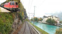 4K Cab ride Vallorbe – Payerne – Lyss – Interlaken, Switzerland [10.2020]