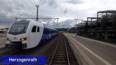 Führerstandsmitfahrt | RB33 | Aachen – Essen | BR 425