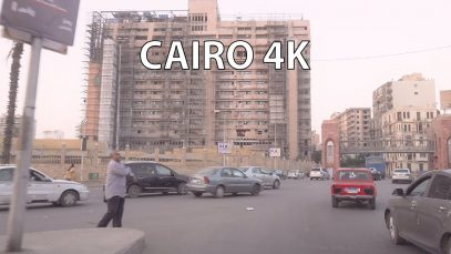 Cairo Egypt 4K – The True Meaning of Rush Hour – Driving Downtown