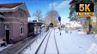 Winter Cab Ride in the Netherlands, WAUW! Utrecht – Baarn CABVIEW HOLLAND SLT 9feb 2021
