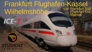 Führerstandsmitfahrt Frankfurt Flughafen-Kassel Wilhelmshöhe *ICE1590* (ICE-T II BR411)