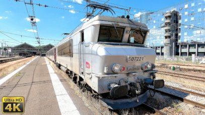 4K Tours – Paris Austerlitz en BB7200