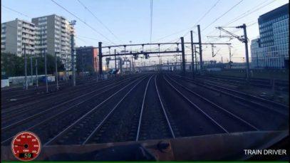 CAB RIDE 4K PARIS NORD LILLE FLANDRES TGV RÉSEAU
