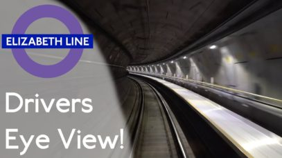 Elizabeth Line (Crossrail) – Abbey Wood to Westbourne Park Drivers Eye View!