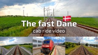 [4K] Train cab ride with The fast 🇩🇰⚡️ Dane ft. 86 014 (DSB Litra EA 3014) of DB Cargo Bulgaria