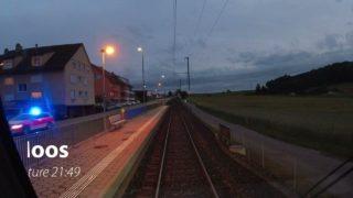 Führerstandsmitfahrt (cab ride) | Bern – Schwarzenburg | RABe 535 (Lötschberger) | intothenightagain