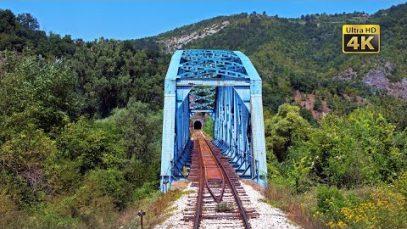 4K CABVIEW Rudnica – Raška – Kraljevo (Scenery mountains along the Ibar river valley)