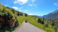 Driving the Pragel Pass, Switzerland