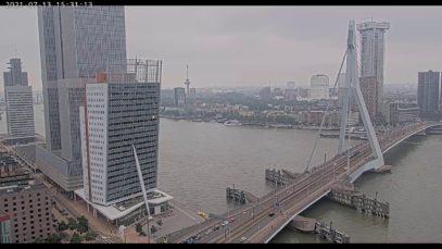 Live Stream – Erasmusbrug, Rotterdam – KPN Led Wall