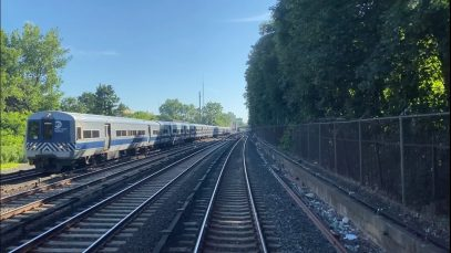 MTA Metro North RailRoad: Harlem Line M3A Local Train RFW from Grand Central to Crestwood